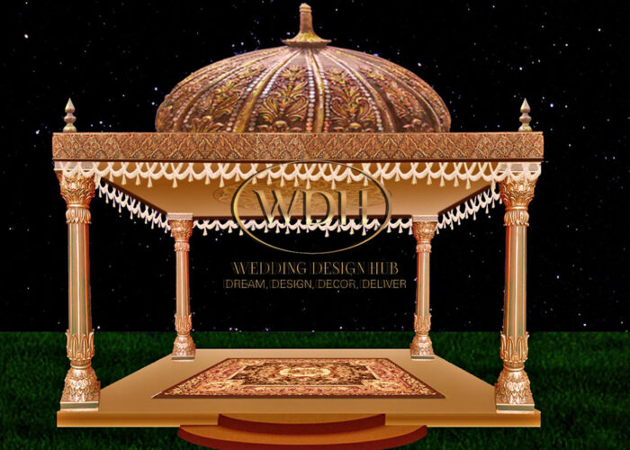 Traditional Vidhi Mandap